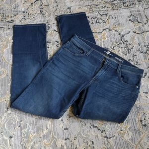 "7 FOR ALL MANKIND ""Standard"" Jeans - Size 36"